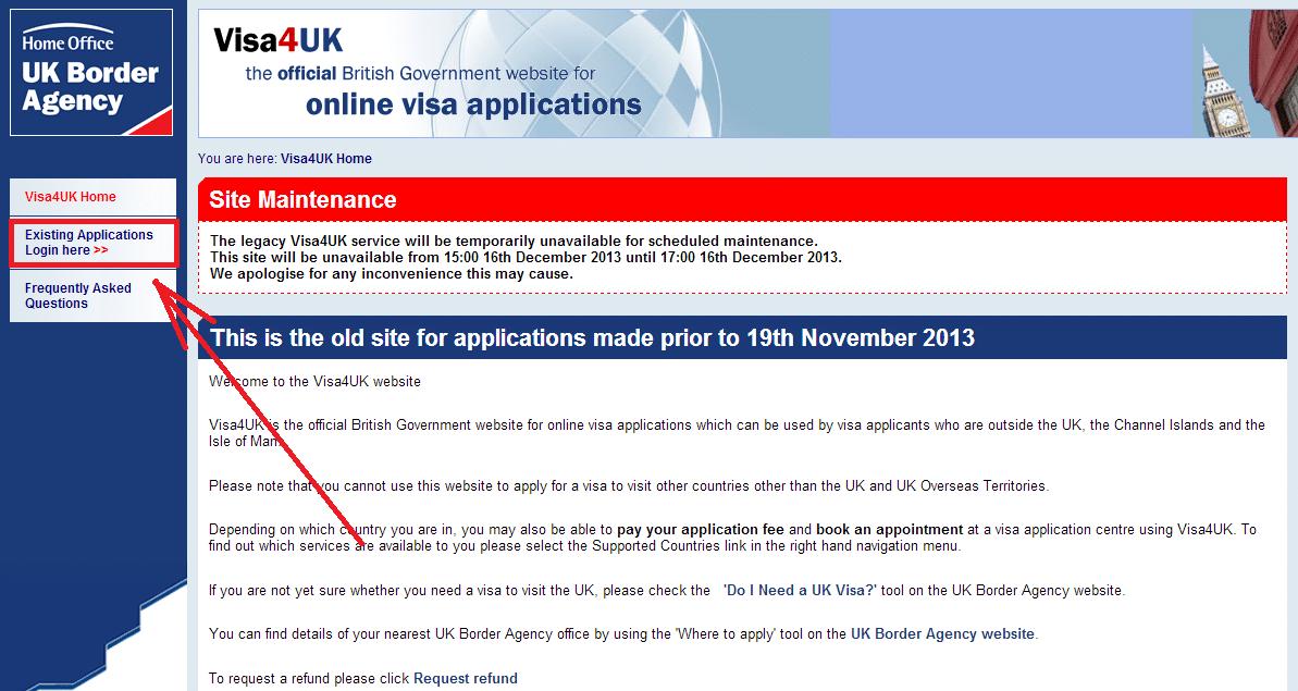 Www visa4uk fco gov uk existing applicants login