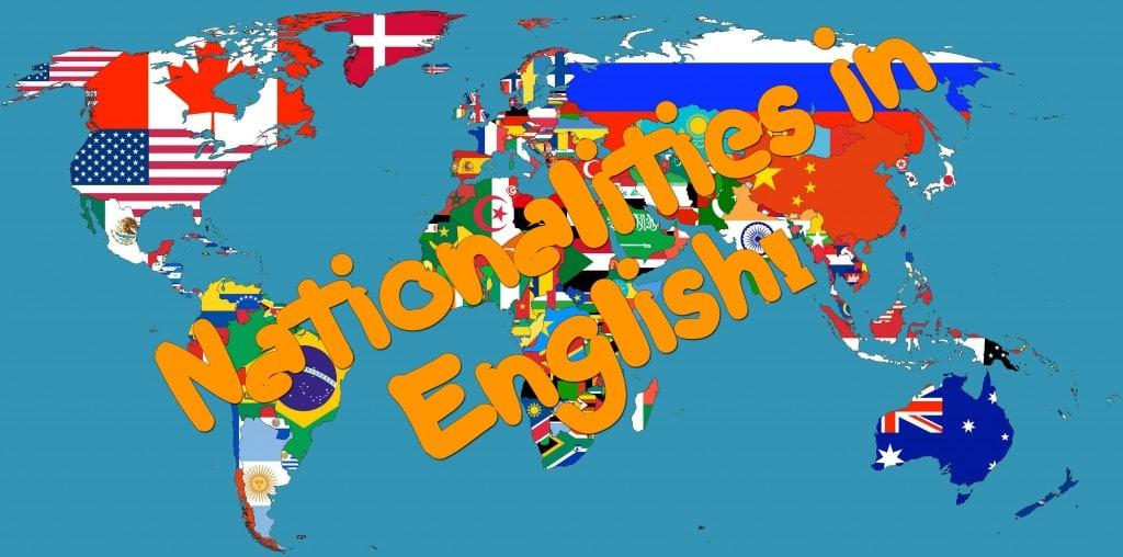 национальности на английском языке