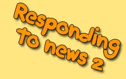 реагируем на хорошие и плохие новости