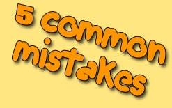 типичные ошибки в английском