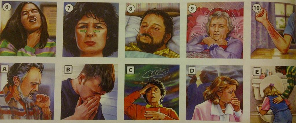 симтомы и травмы