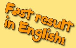 быстрый результат в английском