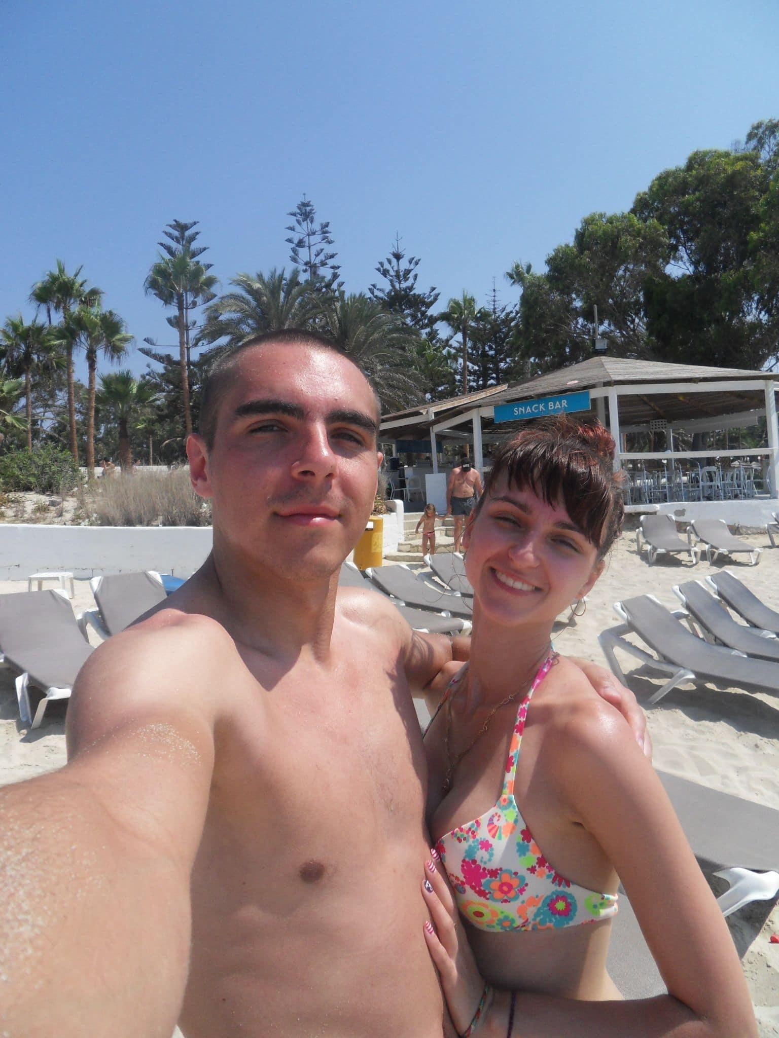 на пляже Нисси