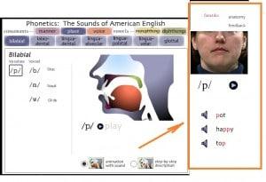 видео пример произношения звука