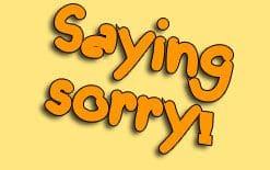 как извиниться на английском