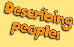 описание людей на английском