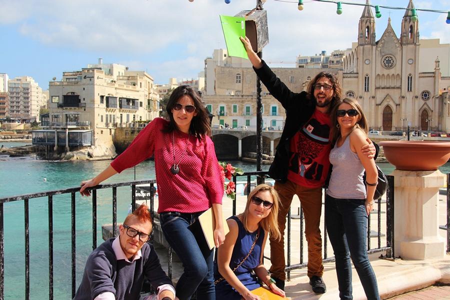 изучение английского на Мальте!