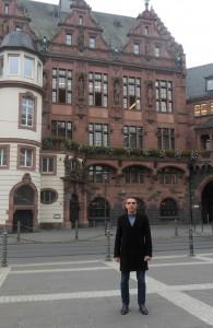 Во Франкфурте