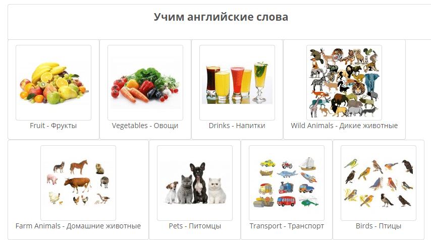знакомство на английском языке с русской транскрипцией