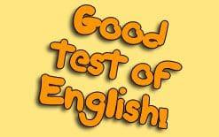 хороший тест на уровень английского
