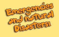 стихийные бедствия на английском