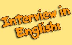 о собеседовани на английском