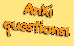 вопросы по Anki