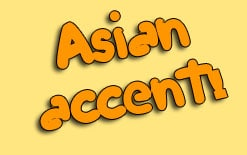 азиатский акцент