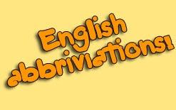 английские сокращения в интернете
