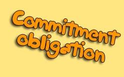 commitment и obligation