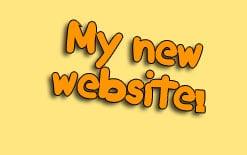 мой новый сайт на английском