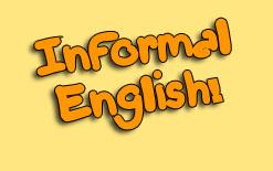 неформальный английский