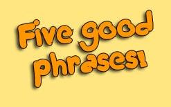 5 английских фраз