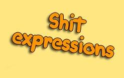 выражения с shit
