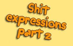выражение с shit часть 2