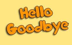 здороваемся и прощаемся на английском