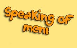 о мужчинах на английском