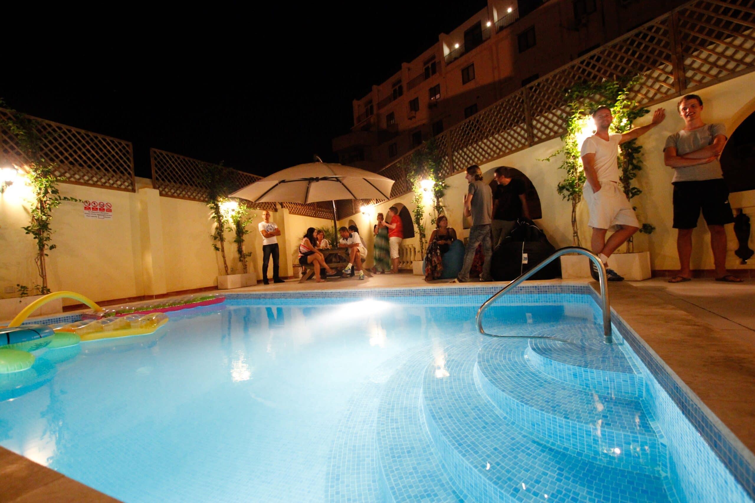 Терраса - бассейн