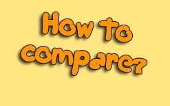как сравнивать на английском