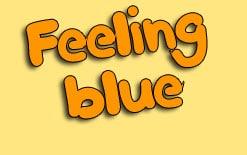 идиомы со словом blue