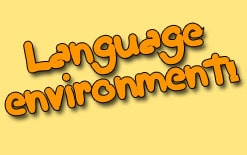 как создать языковую среду