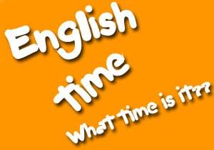 time Как называть время в английском