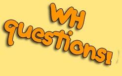 wh-вопросы Как поддержать разговор? WH вопросы