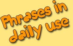 -фразы Разговорные фразы на каждый день на английском языке
