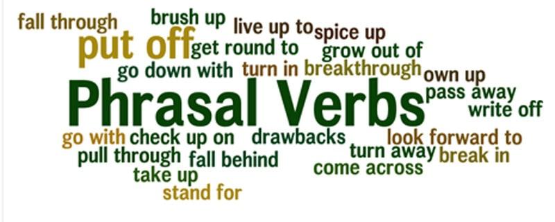 английские фразовые глаголы