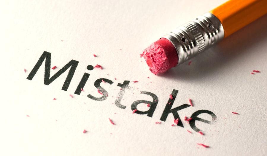 5 ошибок начинающих