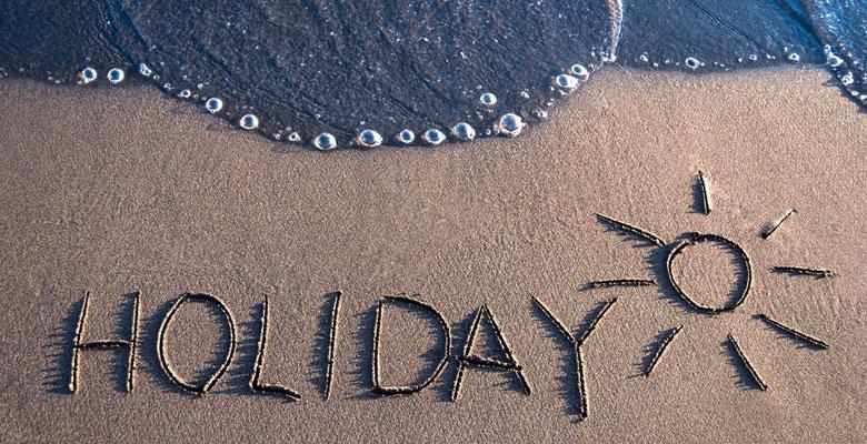 Говоря об отпуске на английском языке