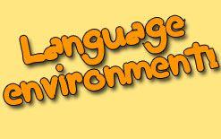 -среда Языковая среда