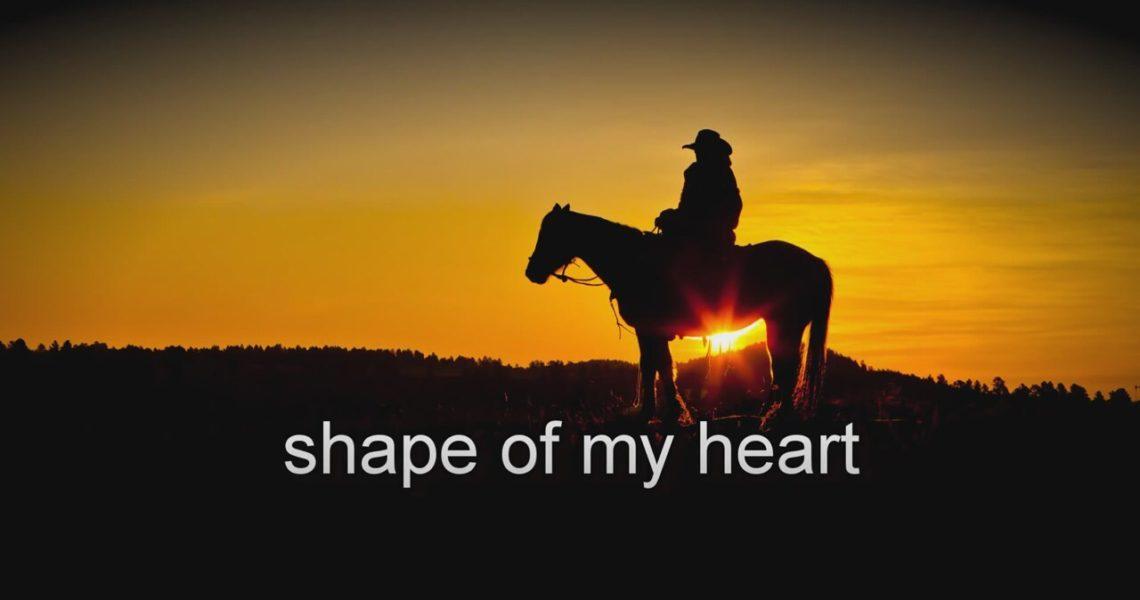 История английской песни Sting Shape of my heart