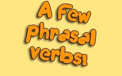 -фразовых-глаголов Несколько отличных фразовых глаголов!