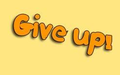 give-up-перевод Употребление фразового глагола give up