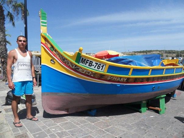 -деревне-Марсашлок Наш отдых на Мальте!