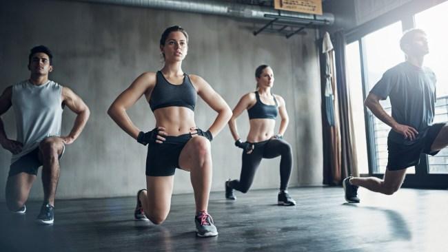 Английская лексика на тему фитнеса