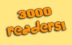 3000-подписчиков Мой блог читают уже 3000 человек!