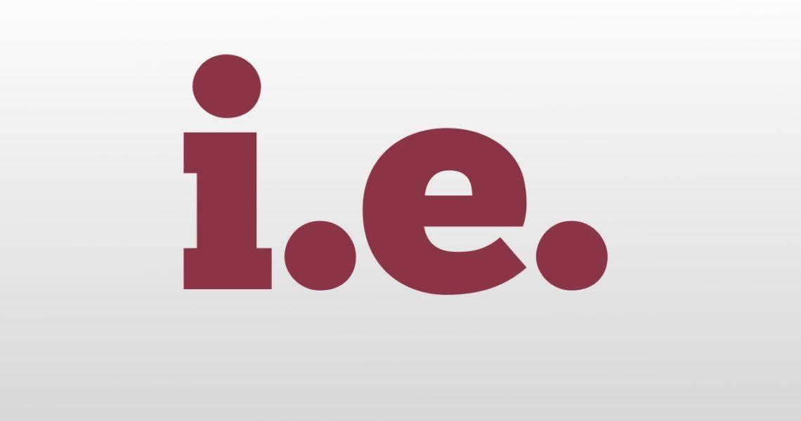 Значение сокращения i.e.