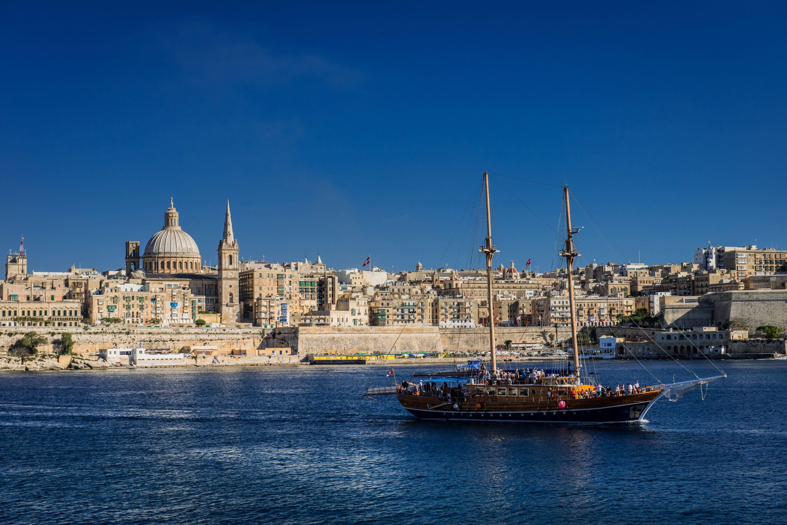-на-Валлетту 2 недели английского языка на Мальте бесплатно!