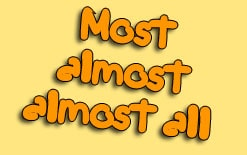-между-most-almost-и-almost-all Разница между «most», «almost» и «almost all»