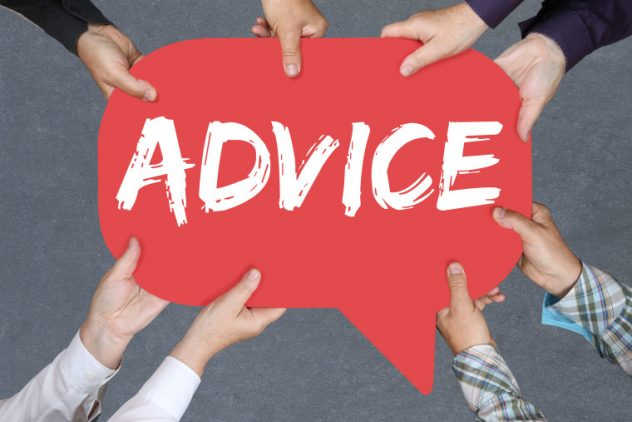 advise Advice and advise not only have different meanings but are also pronounced differently so advice is what is given, while the act of giving advice is called advising (or to advise.