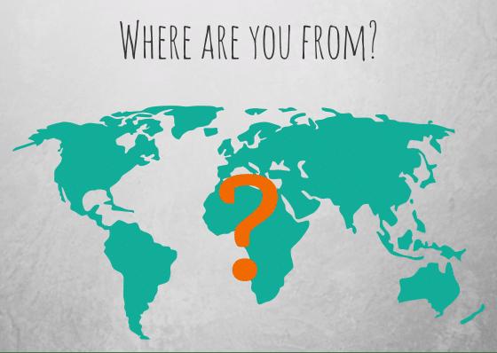 как сказать где вы живете