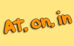 at-on-in Как сказать, где вы живете с помощью предлогов «at», «on» и «in»